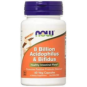 Viên Uống Now Foods 8 Billion Acidophilus/Bifidus