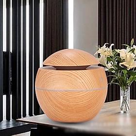 Máy xông tinh dầu vân gỗ sang trọng - MXTD-1
