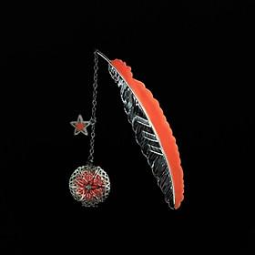 Bookmark dạ quang sắc đỏ