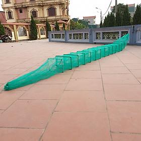 Lưới Lồng Bát Quái Bắt Tôm Cua Cá, lươn trạch, rắn, lưới đánh cá hiệu quả