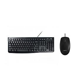 Bộ bàn phím Logitech K120 + chuột Logitech B100 - Hàng chính hãng