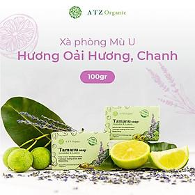 Xà Phòng Mù U - ATZ Healthy Life - 100% Thiên Nhiên - Tẩy Tế Bào Chết, Mềm Mịn Da, Giảm Mụn Lưng