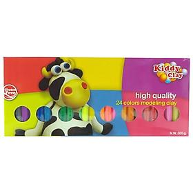 Sáp Nặn Thủ Công 24 Màu Kiddy Clay BX-500-24