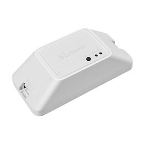 Công Tắc Thông Minh Điều Khiển Bằng Giọng Nói Wifi Kết Nối Ewelink DIY SONOFF RFR3 (433Mhz 100-240V) - Trắng