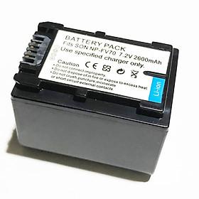 Pin Dành Cho Máy Ảnh, Máy Quay Phim Sony NP-FV70 7.2V 2600mAh Cao Cấp AZONE