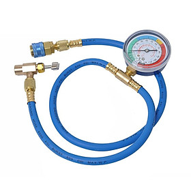 """Safe Can Tap R-134A to R-12/R-22 System 19"""" Can Tap with Gauge"""