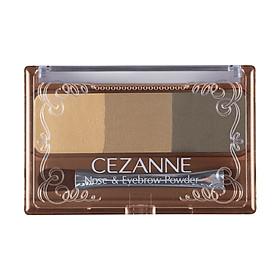 Bột Vẽ Chân Mày Và Mũi Cezanne Nose & Eyebrow Powder (3g)