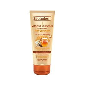 Kem ủ dưỡng tóc chắc khỏe Mật Ong và Bơ Hạt Mỡ dành cho tóc dễ gãy rụng Masque Cheveux Miel Evoluderm 150ml - 16286