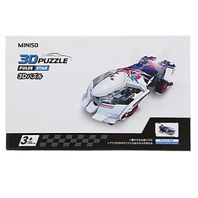Đồ chơi xếp hình 3D Miniso xe hơi 133g - Hàng chính hãng