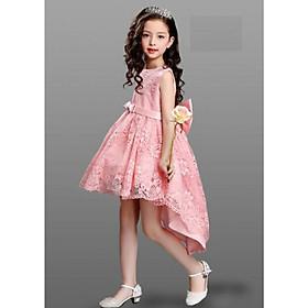 Váy đầm công chúa dự tiệc cho bé gái DBG046 từ 1 2 3 4 5 6 7 8 9 10 tuổi nặng 10 15 20 25 30 32 kg