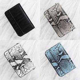 Brand Bag BR_F520 Python Chain Bag Gray