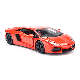 Mô Hình Xe Lamborghini Aventador Lp700-4 Orange 1:24 Maisto MH-31210