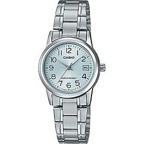 Đồng hồ Nữ Casio dây Kim loại kính Cứng LTP-V002D-2BUDF
