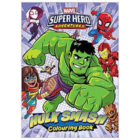 Marvel Superhero Adventures - Hulk Smash Colouring Book