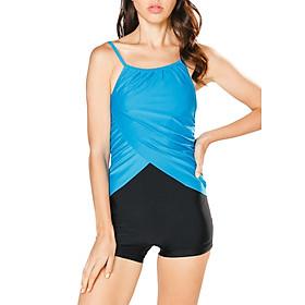 Bộ Bơi Nữ Một Mảnh Short Lan Hạnh 30041-XD104 - Xanh