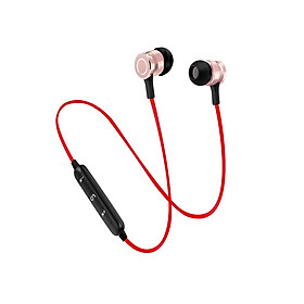 Wireless Headphones V4.1 Wireless Stereo Earbuds Built-in Noise Cancellation Stereo Bluetooth Headphones with Mic  for iPhone and Android Phones
