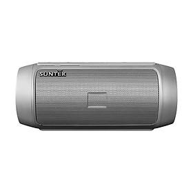 Loa Bluetooth SUNTEK S9 Kiêm Pin Sạc Dự Phòng (Xám) - Hàng Chính Hãng