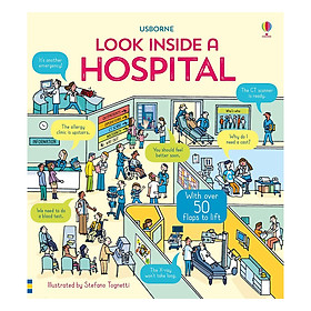 Usborne Look Inside: A Hospital