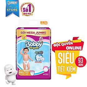 Tã Quần Bobby Gói Mega Jumbo XXL93 (93 Miếng)-1
