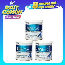 Combo 3 Hộp Sữa Non ILDong Hàn Quốc Số 1 Cho Bé Từ 0 - 12 Tháng Tuổi Hộp 100 Gói, hỗ trợ tiêu hóa, tăng cường hấp thu dinh dưỡng và cải thiện tình trạng biếng ăn ở trẻ.