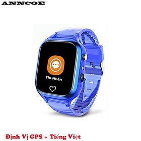 Đồng hồ thông minh trẻ em Anncoe ACM66 nghe gọi hai chiều định vị GPS + LBS chống nước IPX67 phù hợp cho trẻ từ 4 đến 14 tuổi - Hàng Chính Hãng