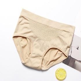 Quần lót thông hơi kháng khuẩn nâng mông cho mẹ (màu da)