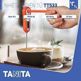 Nhiệt kế đo thực phẩm TANITA TT533,Nhiệt kế đo sữa,Nhiệt kế đo nhiệt độ sữa của bé,Nhiệt kế đo nước,Que đo pha sữa,Que đo cafe