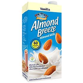 Sữa hạt hạnh nhân ALMOND BREEZE VANILLA Hộp 946ml - Sản phẩm của TẬP ĐOÀN BLUE DIAMOND MỸ - Đứng đầu về sản lượng tiêu thụ tại Mỹ