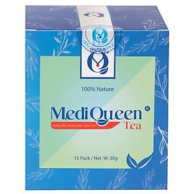 Trà tăng cân thảo mộc MediQueen - Giúp ăn ngon ngủ khỏe - An toàn không tác dụng phụ - Hiệu quả ngay sau 1 tuần sử dụng