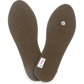 Lót giày quế, vải cotton hút ẩm, khử mùi hôi chân, giúp êm chân, ấm chân, phòng cảm cúm, cải thiên sức khỏe - CI-03