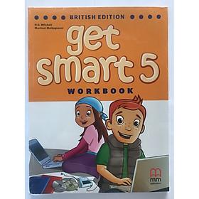 MM Publications: Sách học tiếng Anh - Get Smart 5 - (Brit.) (Workbook) + CD