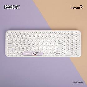 Bàn phím không dây Peanuts Snoopy chống ồn, siêu mỏng nhẹ- Hàng chính hãng