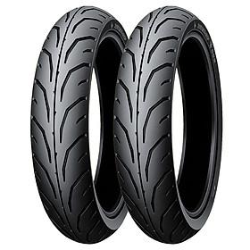 Lốp xe máy Honda Dream II loại dùng ruột hãng Dunlop