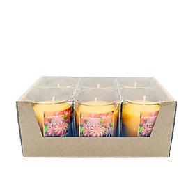 Hộp 6 ly nến thơm votives Miss Candle FtraMart NQM0413 (Lựa chọn mùi hương)