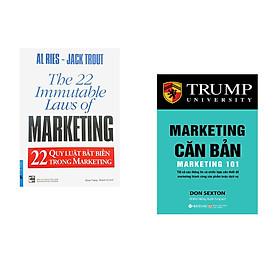 Combo 2 cuốn sách: 22 Qui Luật Bất Biến Trong Marketing + Marketing Căn Bản
