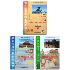 Giáo Trình Hán Ngữ 1 - Tập 1 quyển thượng + Giáo Trình Hán Ngữ 3 - Tập 2 quyển thượng + Giáo Trình Hán Ngữ 5 - Tập 3 quyển thượng