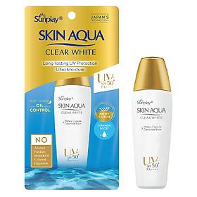 Sữa Chống Nắng Hằng Ngày Dưỡng Trắng Sunplay Skin Aqua Clear White SPF 50+, PA++++ (25g)