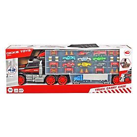 Bộ Đồ Chơi Xe Tải Dickie Toys Truck Carry Case (61.5 x 12.1 x 20.3 cm)