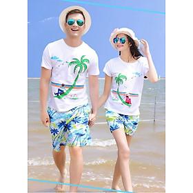 Bộ đồ đôi đi biển cho Nam và Nữ
