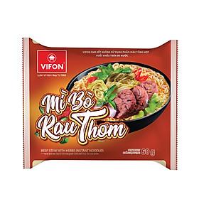 Mì bò rau thơm 60g VIFON