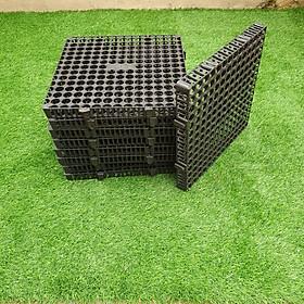 TẤM THOÁT NƯỚC NGẦM: giải pháp chống ngập úng mái sân vườn và bồn cây trồng.