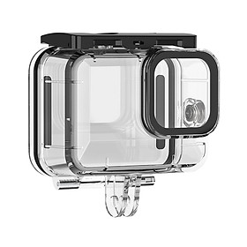 ulanzi Protective Waterproof Case Diving Housing Underwater 196ft/60m Replacement for GoPro Hero 9 Black Action Camera