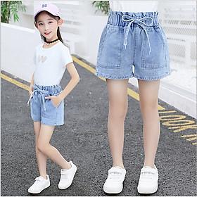 Quần short jean bé gái từ 13 đến 43kq - QJ65