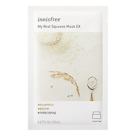 Mặt Nạ Giấy Innisfree My Real Squeeze Mask 20ml