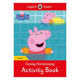 Peppa Pig Going Swimming Activity Book - Ladybird Readers Level 1 (Paperback)