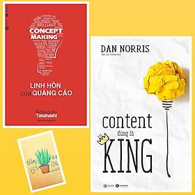 [Download sách] Combo Content Đúng Là King và Linh Hồn Của Quảng Cáo ( Tặng Kèm Sổ Tay Xương Rồng)