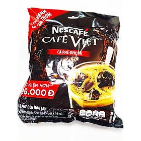 Cà Phê Đen Hòa Tan Nescafé Café Việt 35 Gói x 16g (Bao Bì Mới)