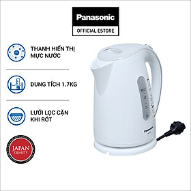 Bình đun siêu tốc Panasonic NC-GK1WRA - Hàng Chính Hãng