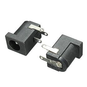 10pcs 5.5 x 2.1mm DC Power Supply Female Jack Socket 3 Legs PCB Mount Connector