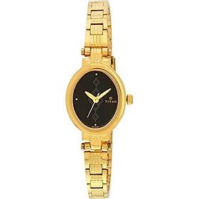 Titan Women's Analog Black Dial Watch